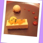 Cementine parfait and orange polenta cake