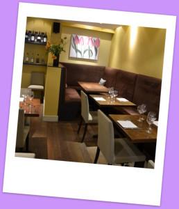 Lambert's cosy restaurant
