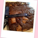 Handmade to order 70% chocolate brownies