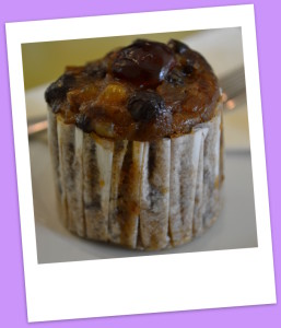 Rich mini fruit cake